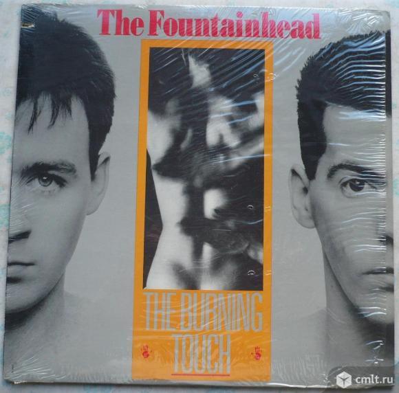 """Грампластинка (винил). Гигант [12"""" LP]. The Fountainhead. The Burning Touch. 1986. Chrysalis. Канада. Фото 1."""