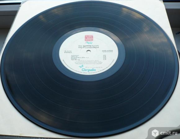 """Грампластинка (винил). Гигант [12"""" LP]. The Fountainhead. The Burning Touch. 1986. Chrysalis. Канада. Фото 8."""