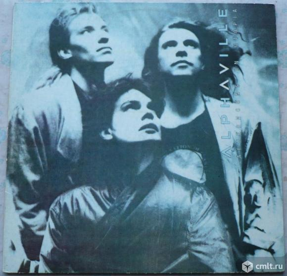 "Грампластинка (винил). Гигант [12"" LP]. Alphaville. Afternoons In Utopia. 1986. Витебск, Беларусь.. Фото 1."