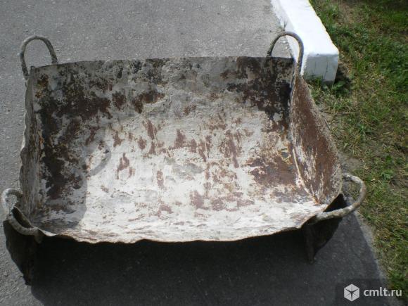 Бадья для раствора и бетона. Фото 1.