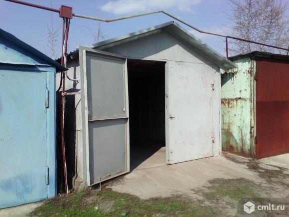 Металлический гараж 16 кв. м Локомотив