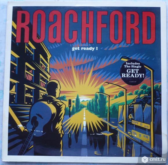 "Грампластинка (винил). Гигант [12"" LP]. Roachford. ""Get Ready!"". (P)(C) 1991. Columbia. Holland.. Фото 1."