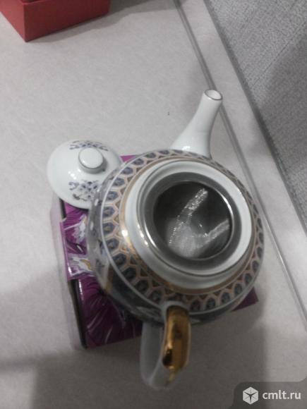 Новый заварочный чайник с ситечком
