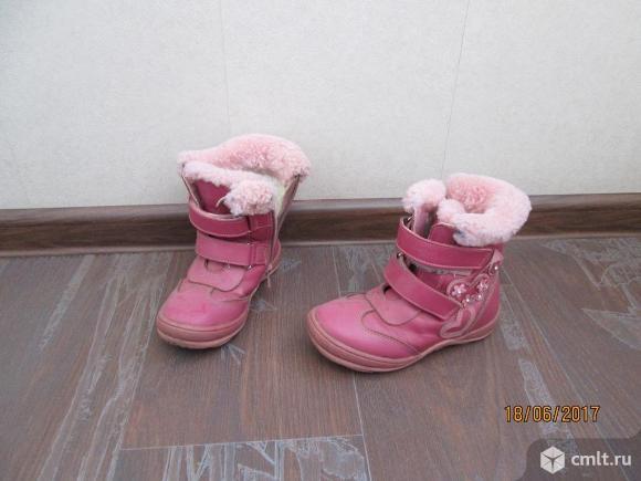 Сапоги зимние. Фото 1.