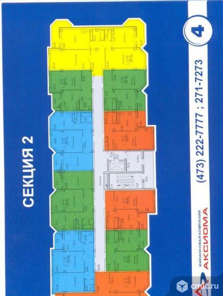 2-комнатная квартира 58 кв.м
