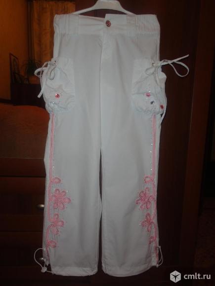 Нарядные брюки(новые). Фото 1.