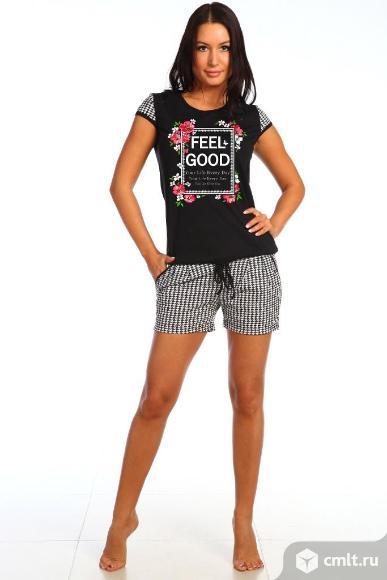 Костюм с шортами размер 48,50,52,54
