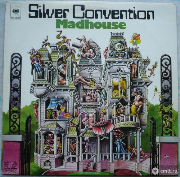 "Грампластинка (винил). Гигант [12"" LP]. Silver Convention. Madhouse. 1976. Columbia. Канада. Диско.. Фото 1."