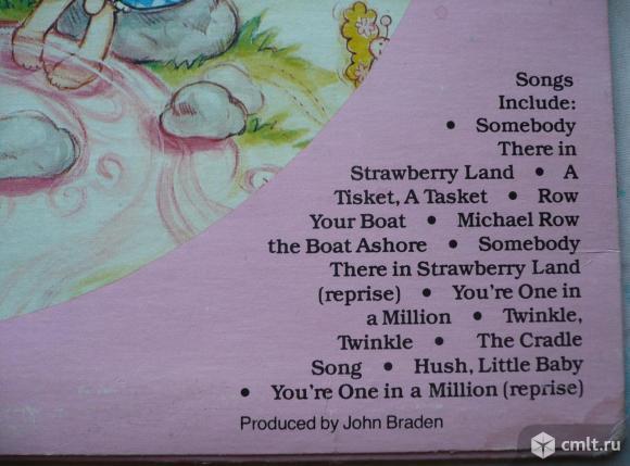 "Грампластинка (винил). Гигант [12"" LP]. Strawberry Shortcake. Strawberry Shortcake and Her Friends.. Фото 8."