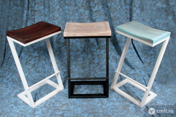 Барные стулья в стиле LOFT (Industrial) – скандинавский бук