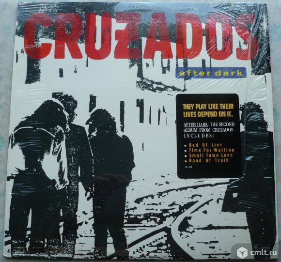 """Грампластинка (винил). Гигант [12"""" LP]. Cruzados. After Dark. (P)&(C) 1987 Arista Records, Inc. USA.. Фото 1."""