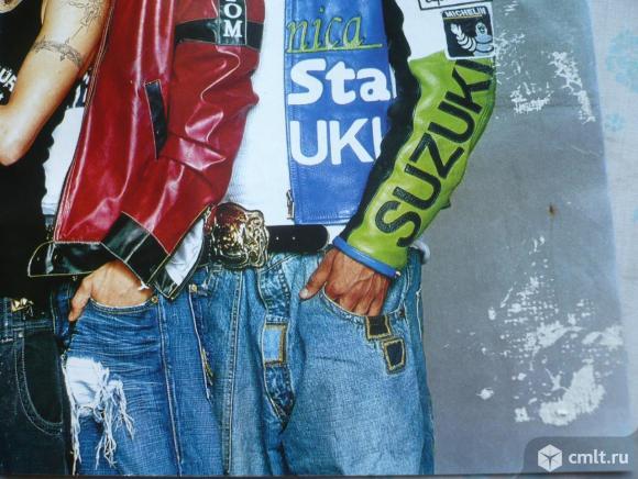 """Плакат (постер) из журнала """"Все звезды"""". Ферджи [Fergie Duhamel, Ферги Дюамель] / US5. 42 x 28 см.. Фото 8."""