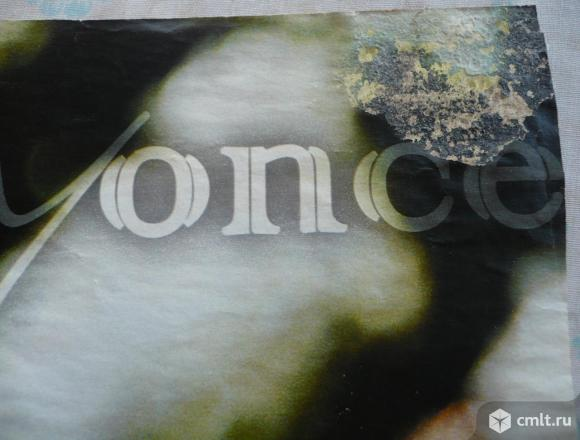 "Плакат (постер) из журнала ""Молоток"". Nikole Scherzinger / Beyonce. Размер 40,2 x 27 см.. Фото 8."