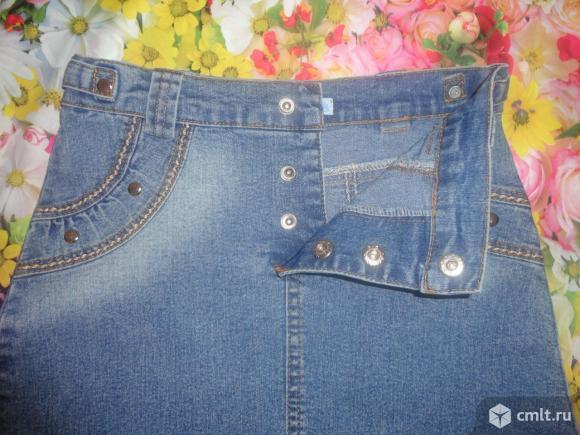 Стильная джинсовая юбочка. Фото 3.