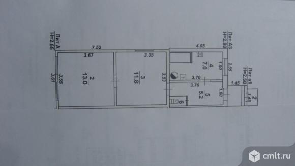 Часть дома 40 кв.м