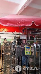 Палатка торговая, стол раскладной, зонт. Фото 2.