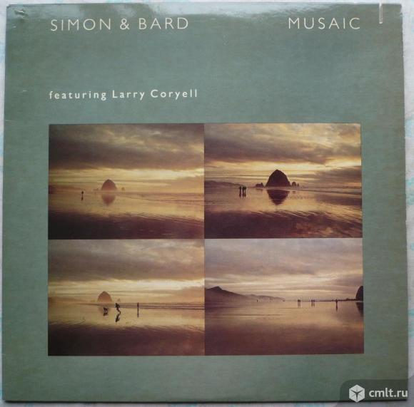 "Грампластинка (винил). Гигант [12"" LP]. Simon & Bard (Fred Simon and Michael Bard) & Larry Coryell.. Фото 1."