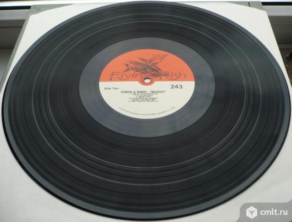 "Грампластинка (винил). Гигант [12"" LP]. Simon & Bard (Fred Simon and Michael Bard) & Larry Coryell.. Фото 8."