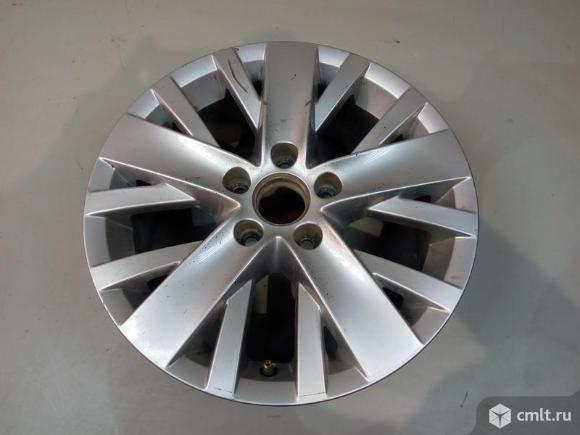 Диск колесный R16x6.5J ET50 5X112 VW GOLF VI 09-12 б/у 5K0601025AL 5K0601025AL88Z 3*
