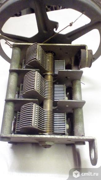 Конденсатор переменной емкости.. Фото 2.