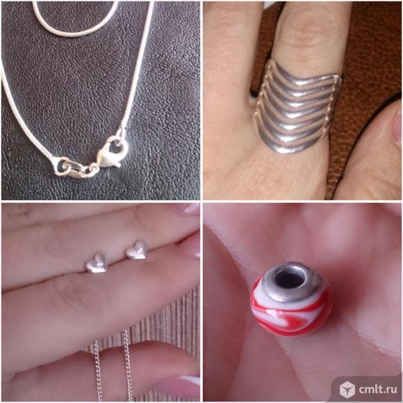 Серебряные украшения. Фото 1.