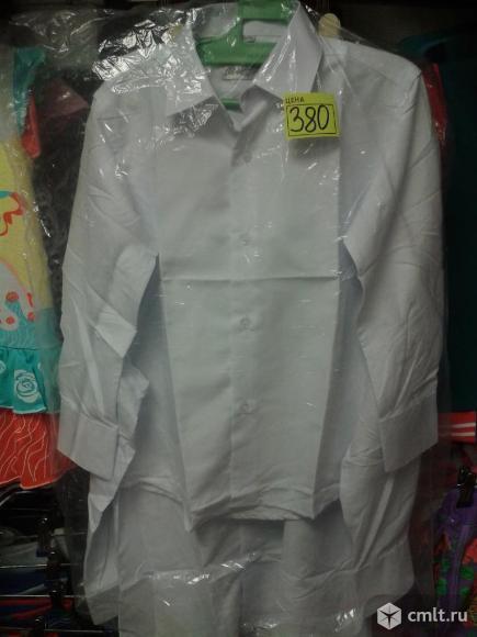 Рубашки белые новые на утренники и 1 сентября. Фото 1.