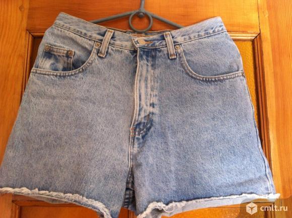 Шорты джинсовые голубые новые, производство США, р. 42-44
