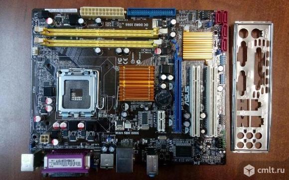 ASUS P5KPL-AM EPU + Core 2 Duo E7300. Фото 1.
