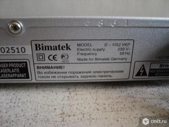 Видеопроигрыватель Bimatek. Фото 3.