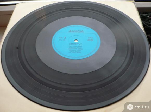 """Грампластинка (винил). Гигант [12"""" LP]. Kleeblatt No 14 - Electronic-Pop. 1985. Amiga. ГДР.. Фото 8."""