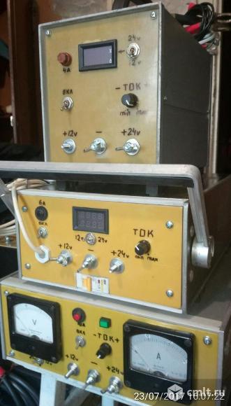 Новое зарядное устройство (ЗУ) 12-24v ток заряда 25 А .