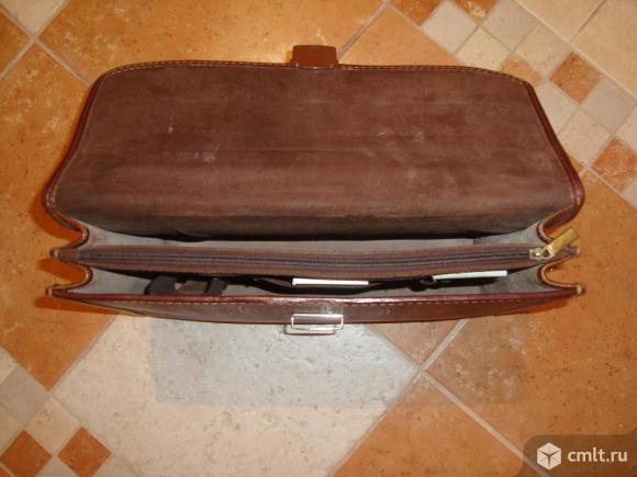 Продаю портфель из натуральной кожи. Фото 6.