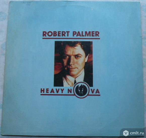 "Грампластинка (винил). Гигант [12"" LP]. Robert Palmer. Heavy Nova. His Master's Voice (HMV), 1990.. Фото 1."