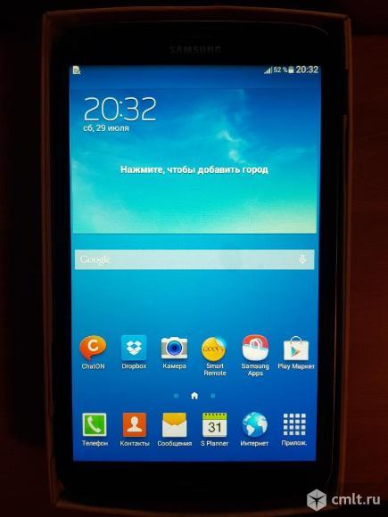 Планшет Samsung Galaxy Tab 3 8.0 SM-T311 16Gb черный. Фото 1.