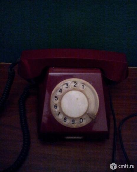 Продаю телефон времен СССР. Фото 1.