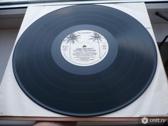 "Грампластинка (винил). Гигант [12"" LP]. Jimmy Buffett. Coconut Telegraph. 1980 MCA Records. Канада.. Фото 8."