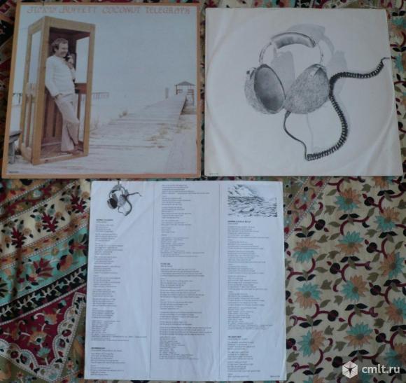 "Грампластинка (винил). Гигант [12"" LP]. Jimmy Buffett. Coconut Telegraph. 1980 MCA Records. Канада.. Фото 1."