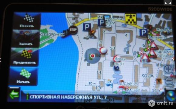 Навигатор JJ Connect 5200wide с TV