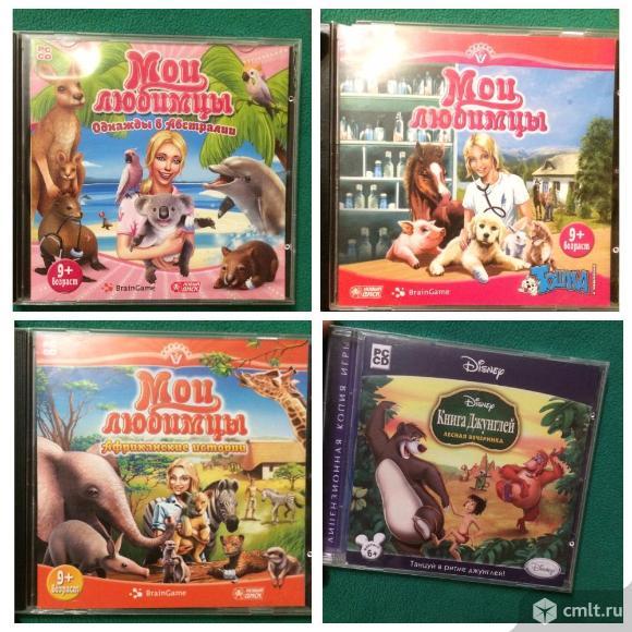 Компьютерные игры и dvd диски