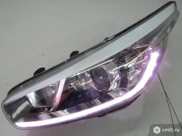 Фара левая LED KIA CEED 12-15 б/у 92101A2220 4.5* ++  исправная дхо. Фото 1.