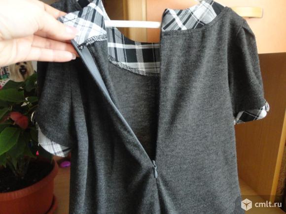 Школьное платье-сарафан. Фото 3.