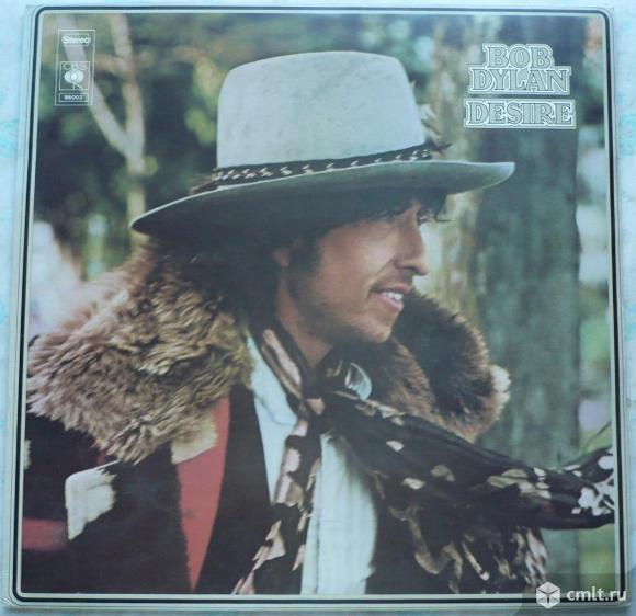 "Грампластинка (винил). Гигант [12"" LP]. Bob Dylan. Desire. (P)(C) 1975 CBS Inc. Holland.. Фото 1."