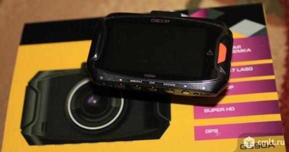 Как новый, GPS SuperHD Видеорегистратор DEXP GS90A. Фото 1.