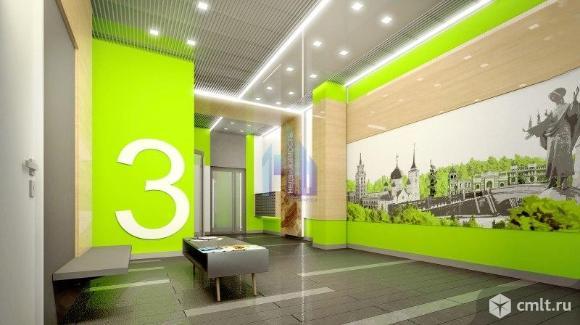 2-комнатная квартира 45,56 кв.м