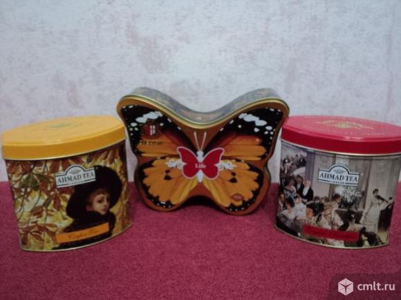 Коллекция баночек из под чая. Фото 4.