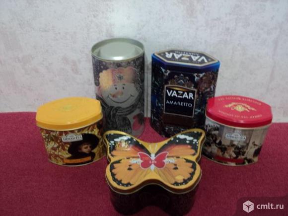 Коллекция баночек из под чая. Фото 1.