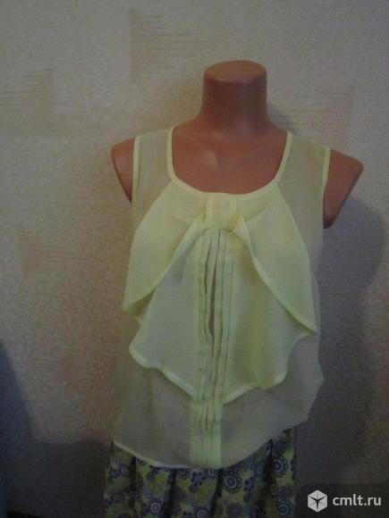 Блузка летняя без рукавов,. Фото 1.