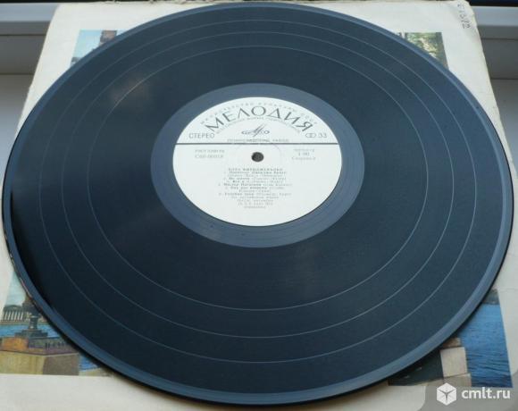 """Грампластинка (винил). Гигант [12"""" LP]. Ella Fitzgerald. Элла Фитцджеральд. 1975. Мелодия. СССР.. Фото 6."""