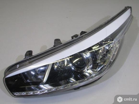 Фара левая LED KIA CEED 12- б/у 92101A2220 3* -  исправная дхо. Фото 1.