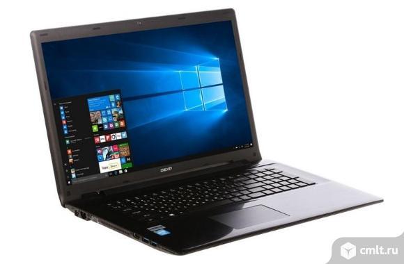 """Новый 17.3"""" Ноутбук DEXP Aquilon O161 серый"""